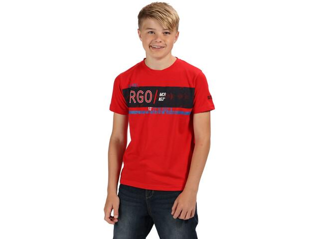 Regatta Bosley II Camiseta Niños, pepper